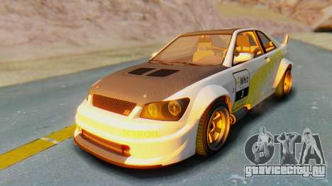 GTA 5 Karin Sultan RS Carbon IVF для GTA San Andreas вид снизу