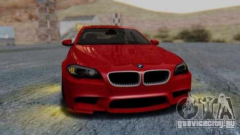BMW M5 2012 Stance Edition для GTA San Andreas вид сбоку