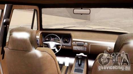 GTA 5 Declasse Rancher XL для GTA San Andreas вид сзади слева