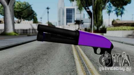 Purple Escopeta для GTA San Andreas