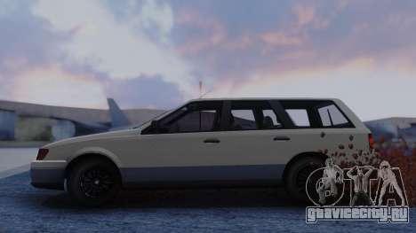 GTA 5 Vulcar Ingot для GTA San Andreas вид сзади слева