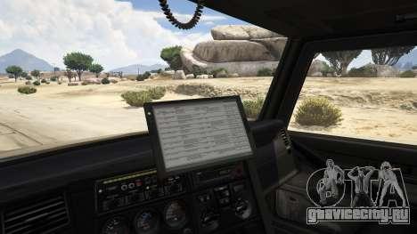 Police Towtruck для GTA 5 вид сзади справа