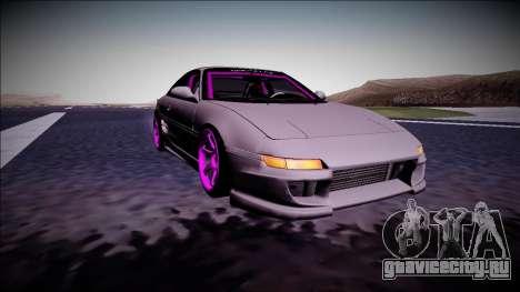 Toyota MR2 Drift Monster Energy для GTA San Andreas вид сзади