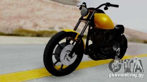 Harley-Davidson Dyna Super Glide T-Sport 1999 для GTA San Andreas