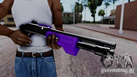 Purple Spas-12 для GTA San Andreas третий скриншот