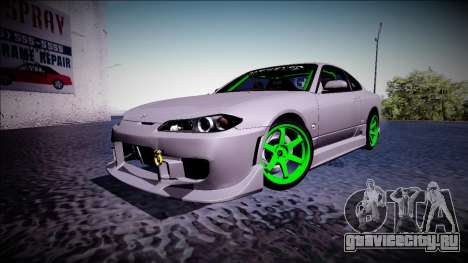 Nissan Silvia S15 Drift Monster Energy для GTA San Andreas