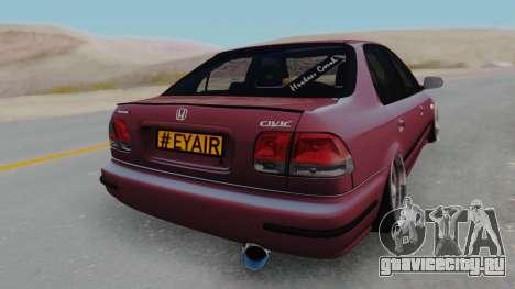 Honda Civic 1.6 для GTA San Andreas вид слева