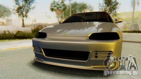 Honda Civic Vti 1994 V1.0 IVF для GTA San Andreas вид сзади