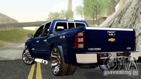 Chevrolet Cheyenne 2012 Dually для GTA San Andreas вид слева