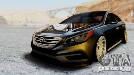 Hyundai Sonata Turbo 2015 для GTA San Andreas