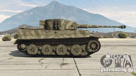 Panzerkampfwagen VI Ausf. E Tiger для GTA 5