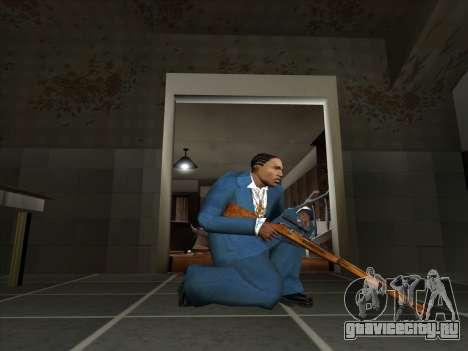 Набор русского оружия для GTA San Andreas двенадцатый скриншот