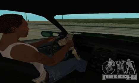 Nissan Skyline R34 Sunray (FlatOut 2) для GTA San Andreas вид сзади