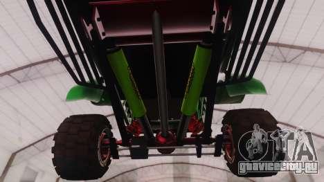 Mudmonster для GTA San Andreas вид сзади