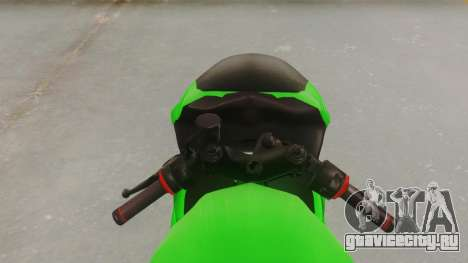Bajaj Pulsar 200FS для GTA San Andreas вид сзади