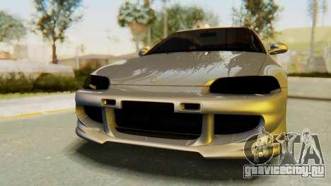 Honda Civic Vti 1994 V1.0 IVF для GTA San Andreas вид изнутри