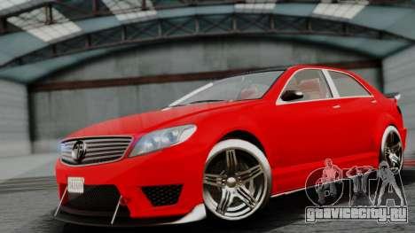 GTA 5 Benefactor Schafter V12 IVF для GTA San Andreas