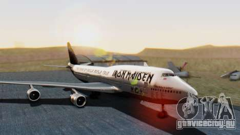 Boeing 747-428 Ed Force One для GTA San Andreas