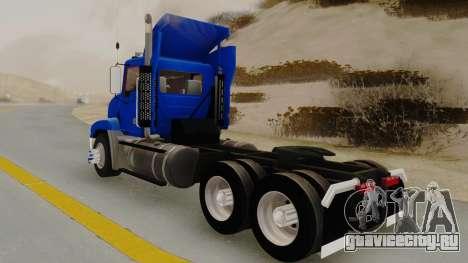 Mack Vision Trailer v3 для GTA San Andreas вид сзади слева