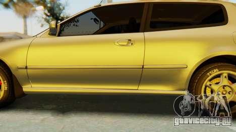 Honda Civic Vti 1994 V1.0 IVF для GTA San Andreas