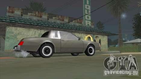 Willard Majestic для GTA San Andreas вид слева
