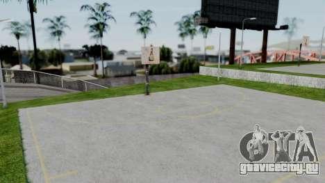 New Basketball Court для GTA San Andreas второй скриншот
