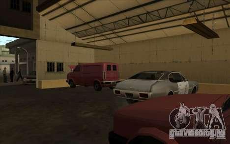 Автомастерская в доках для GTA San Andreas второй скриншот