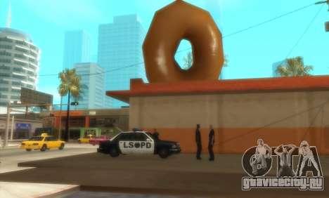 Полицейские C.R.A.S.H для GTA San Andreas
