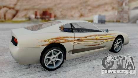 Jester F&F4 RX-7 PJ для GTA San Andreas вид сзади слева