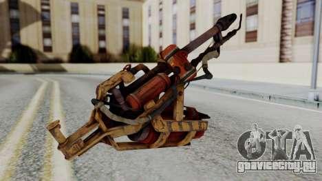 Fallout 4 - Flamethrower для GTA San Andreas второй скриншот