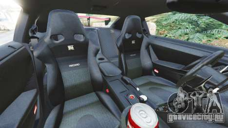 Nissan GT-R (R35) [LibertyWalk] v1.1 для GTA 5 вид справа