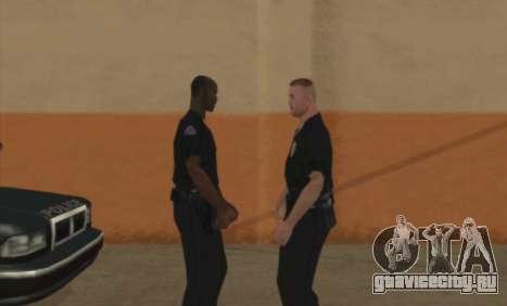 Полицейские C.R.A.S.H для GTA San Andreas второй скриншот
