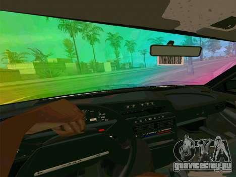 Ваз 21099 Gvr для GTA San Andreas вид сзади слева