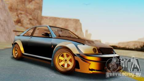 GTA 5 Karin Sultan RS Carbon IVF для GTA San Andreas