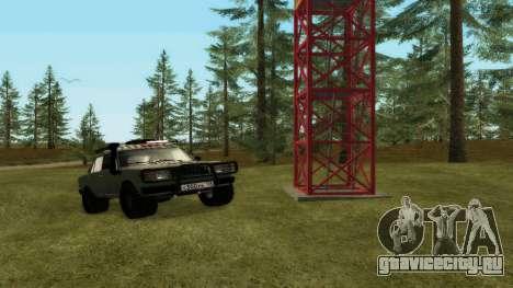 ВАЗ 2107 4х4 для GTA San Andreas