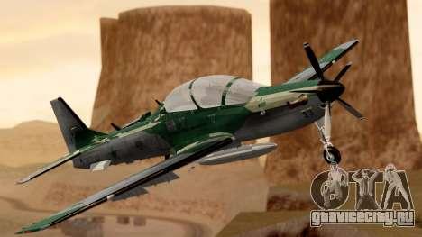 A-29B Embraer Super Tucano для GTA San Andreas