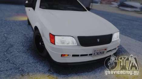 GTA 5 Vulcar Ingot IVF для GTA San Andreas вид изнутри
