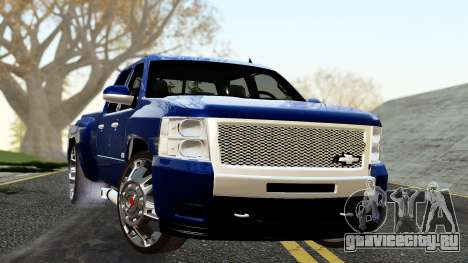 Chevrolet Cheyenne 2012 Dually для GTA San Andreas