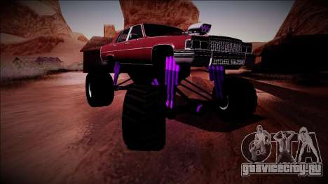 GTA 4 Emperor Monster Truck для GTA San Andreas вид сзади