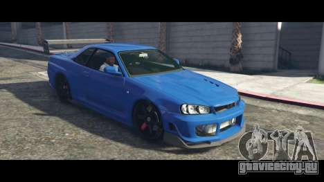 Nissan Skyline R34 Tommy Kaira для GTA 5