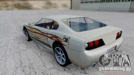Jester F&F4 RX-7 PJ для GTA San Andreas вид слева