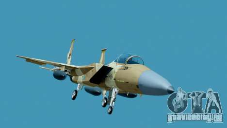 McDonnell Douglas F-15E Aggressor Desert для GTA San Andreas