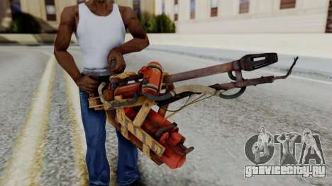 Fallout 4 - Flamethrower для GTA San Andreas третий скриншот