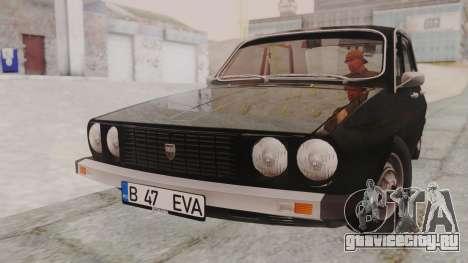 Dacia 1310 1979 для GTA San Andreas вид сзади слева