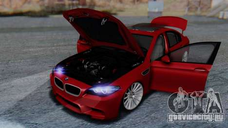 BMW M5 2012 Stance Edition для GTA San Andreas колёса