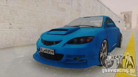 Mazda 3 Full Tuning для GTA San Andreas вид справа