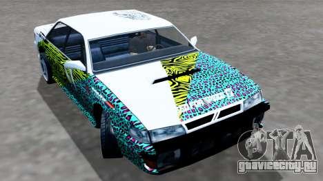 Sultan 4 Drift Drivers V2.0 для GTA San Andreas вид сзади слева