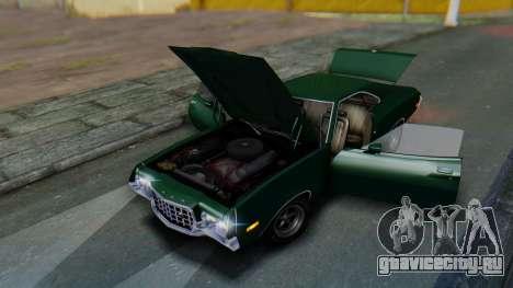 Ford Gran Torino Sport SportsRoof (63R) 1972 IVF для GTA San Andreas вид сбоку