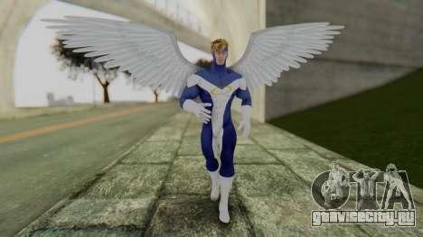 Marvel Heroes - Angel для GTA San Andreas второй скриншот