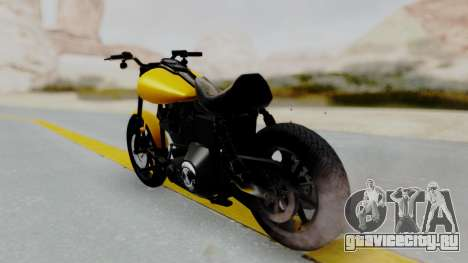 Harley-Davidson Dyna Super Glide T-Sport 1999 для GTA San Andreas вид слева